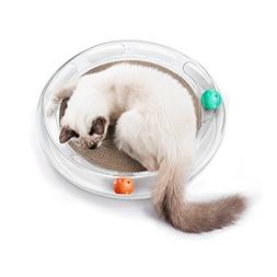PETKIT Cat Scratcher 4 in 1 Cat Scratching Toy Bed-Scratch P
