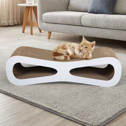 Cat Scratcher Cardboard Lounge Post Furniture Play Rest Slee