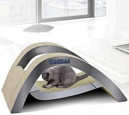 Zero Cat Scratcher Cardboard Toy Luxury Hammock Style Corrug