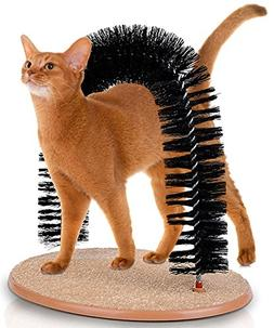 Hoovy Cat Scratcher and Grooming Arch: Self Groomer and Mass