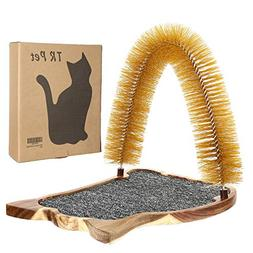 Cat Scratcher Grooming Arch Toy - Pet Cat Arch Self Groomer