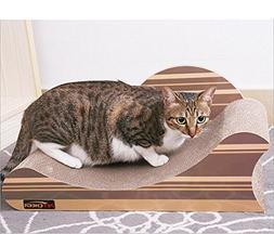 Zero Cat Scratcher Jungle Stripes Design Patterned Scratchin