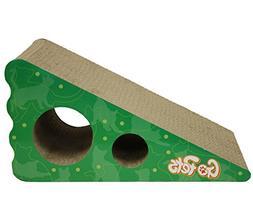 GoPets Premium Cat Scratcher, Wedge Shaped Corrugated Cardbo