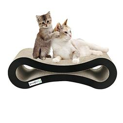 isYoung Cat Scratcher Lounge Corrugated Cat Scratcher Cardbo