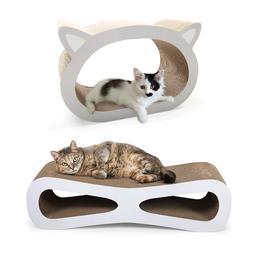 Cat Scratcher Lounge Post Cardboard with Catnip Toys Furnitu