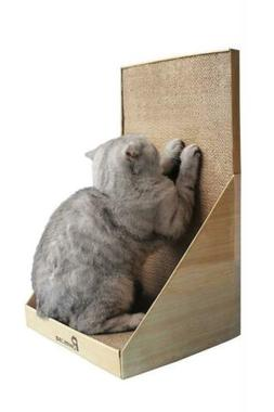 Pawmosa Cat Scratcher, Vertical Cardboard Cats Scratching Po