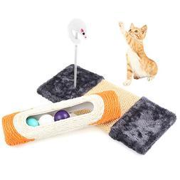 Petacc Cat Scratcher Set Cat Rolling Sisal Scratching Post S