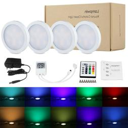 LED Closed Lights RGB Under Cabinet Lighting Bulb Kitchen Co