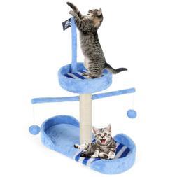 "28.7"" Cat Tree Scratching Post Furniture Scratcher Pet Kit"