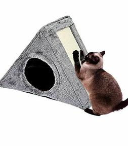 Animals Favorite Cat Scratching Board Pad, Triangle Claw Pad