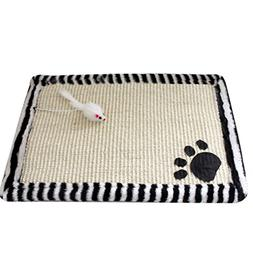 PanDaDa Cat Scratching Mat Pad Pet Double Sided Sisal Non-to