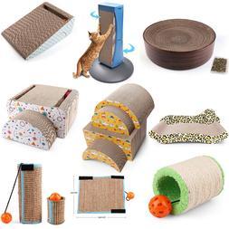 Cat Scratching Post Bed Pad Mat Sofa Lounger Scratcher Kitty