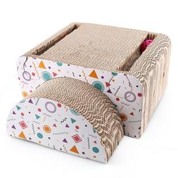 cat scratching post scratcher house bed mat