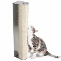 Cat Scratching Post Sisal Climbing Playing Post Wall Mounted