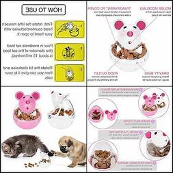 Legendog Cat Slow Feeder Cat Food Ball Mice Tumbler Shaped P