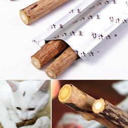 Cat Snacks Matatabi Chew Catnip Stick Teeth Molar Cleaning B