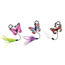 Ethical Cat-Spot Fluttering Butterfly Ring Cat Toy- Assorted