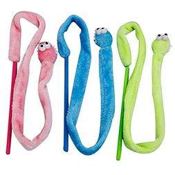 Keebgyy Cat Stick, Cat Toy Catnip Toy,Interactive Cat and Ki