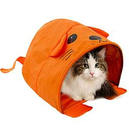Cat Tent Mouse Shape Toy Summer Collapsible Kitten Rabbit Ca