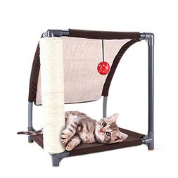 YAOBAO Cat Tower Furniture Play House Perch Activity Trees P