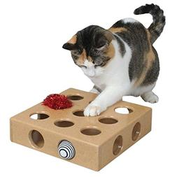 Legendog Cat Toy, Cat Interactive Toy 9 Hole Cat Training To