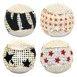 Hestio 1 Pcs Cat Toy Cat Ball Interactive Toys Game Rattle C