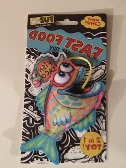 Cat Toy Fish Catnip Treat Fast Food