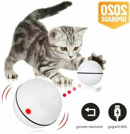 Cat Toy Interactive Automatic Self Rotating Rechargeable LED