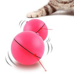 Cat Toy Interactive LED Light Ball Electric Automatic Self R