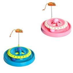 Cat Toy New Crazy Play Interactive Fun Game Spring Mouse Mov