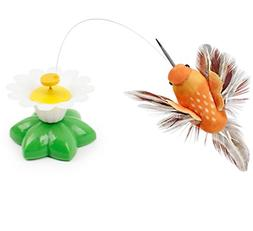 Suicazon Colorful Cat Toy 3 Set, 1 Electric Bird Toy And 2 P