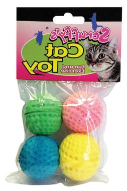 Boss Pet 04467 Scruff's Colorful Kitty Springy Foam Sponge B