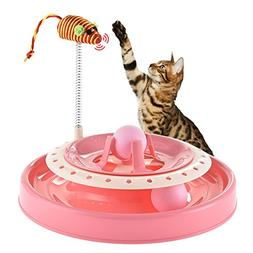 cat toy spring mouse