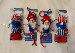 SmartyKat Cat Toys Bouncy Mouse & Skitter Mice Lot of Pet To