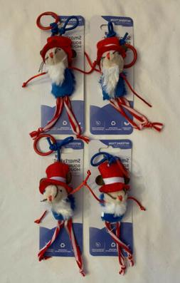 SmartyKat Cat Toys Bouncy Mouse,  Lot of Pet Toys - New