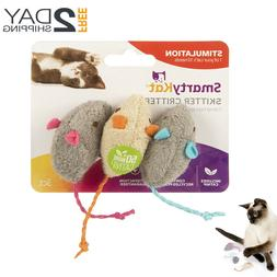 Cat Toys Catnip 3 Adorable Mice Spiked With Pure And Potent