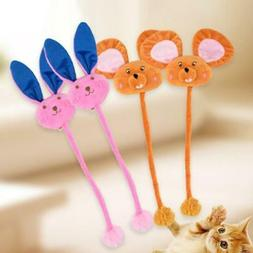Cat Toys Catnip Cartoon Doll Toy With Long Tail