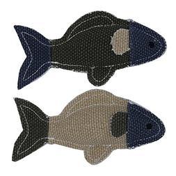 Buthneil Cat Toys Catnip Toys Fish Shape Doll Catnip Crinkle