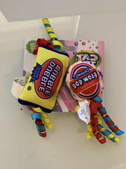 OurPets Cat Toys Double Bubble Blow Pops Candy Theme Catnip