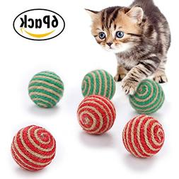 Cat Toys Interactive Ball, Matacrafter Eco-friendly Sisal To