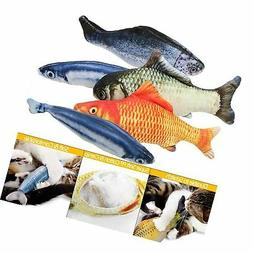 B Bascolor Cat Toys Interactive Catnip Emulational Fish Toy