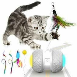 Cat Toys Interactive, For Indoor Feather,Plush&Ball, Funny E