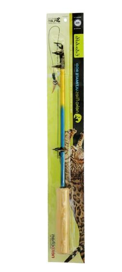 cat toys interchangeable teaser wand rods 2