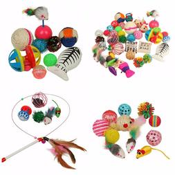 Cat Toys Kitten Play Furry Toys For Cats Kitty Playing Pet S