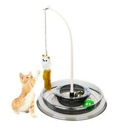 Cat Toys Pet mouse round turntable funny teaser