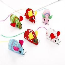 Cat Toys Plush False Mouse Animal Funny Playing Mice Toys Pe
