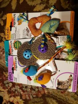 Petstages cat toys- set of 5