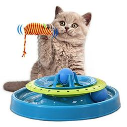 Cat Track Toy, Cat Roller Toy Ball Cat Interactive Toys Catc