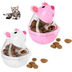 Petacc Cat Treat Ball Funny Pet Food Leakage Ball Interactiv