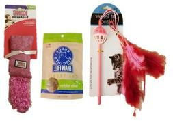 Cat Treat & Toy Bundle |  Bag of Cloudstar Chicken Flavored